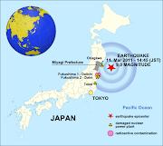 . la placa Norteamericana a una velocidad de 83 mm/año. terremoto tsunami japon