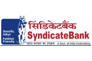 Syndicate Bank SECURITY OFFICERS RECRUITMENT April 2013
