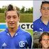 Wajah muda remaja Mesut Ozil, Santi Cazorla dan Olivier Giroud