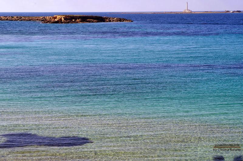Das Meer bei Gallipoli im Oktober (Apulien)