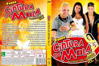DVD Forró Cintura De Mola – Boteco Do Cintura – Vol.2