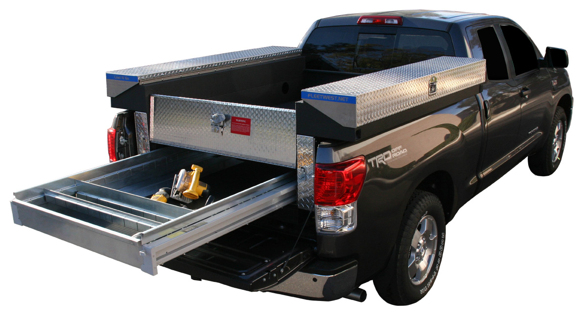 Truck bed storage boxes - Pickup bed storage boxes ...