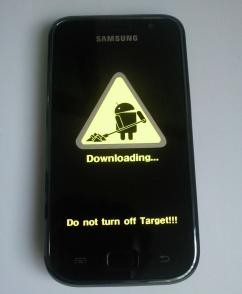 galaxy s download mode