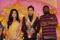 Celebraties at Actor Bharat n Jessy Wedding Reception Photos+%252876%2529 Actor Bharath n Jessy Wedding Photos