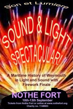 Son et Lumiere Sound and Light Spectacular Nothe Fort 10th - 13th Sep 2014