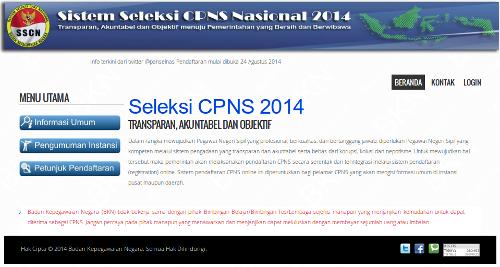 seleksi CPNS 2014