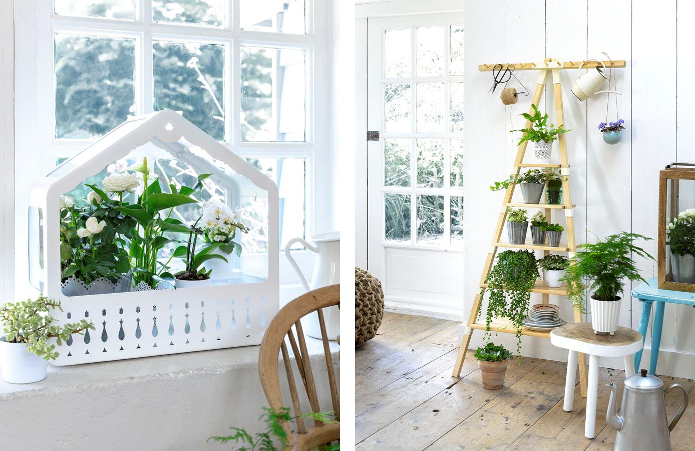 Decoraci n f cil plantas imprescindibles en el hogar - Escalera decoracion ikea ...