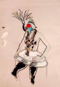 THEATRICAL IMPRESSIONS:  Illustrations by Maya Finkelstein Amrami