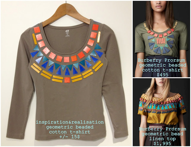 pics on the right: burberry.com - collage by moi