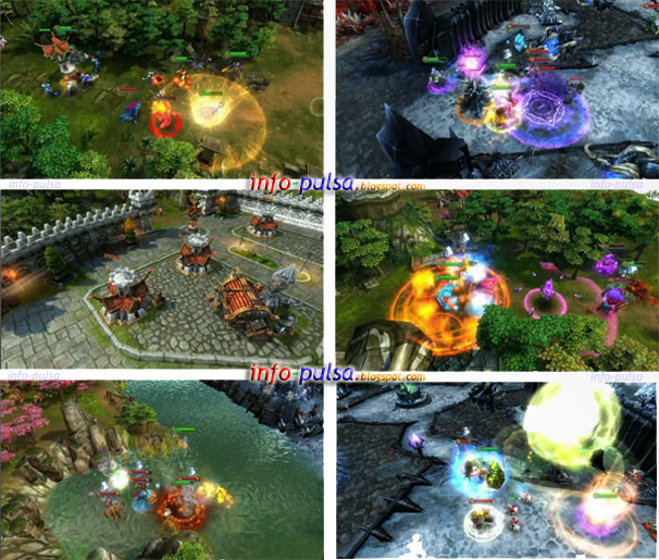 Screen Shoots of Heroes of Order & Chaos
