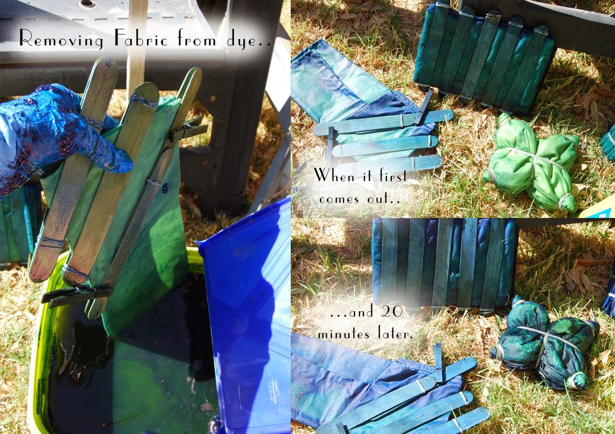 Project: DIY Shibori Indigo Dying