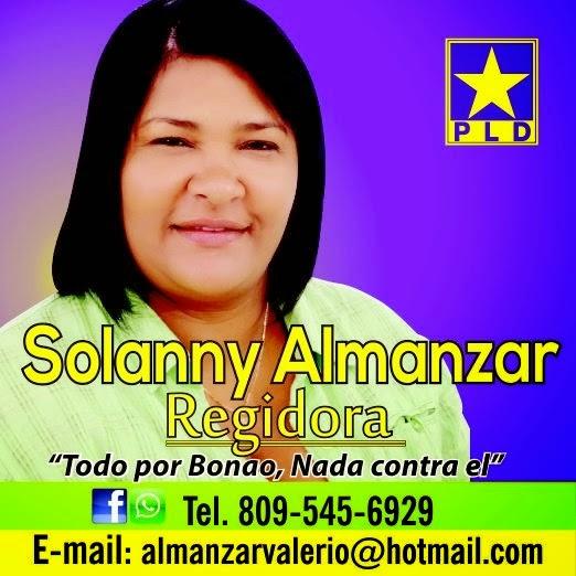 SOLANNY ALMANZAR PARA REGIDORA