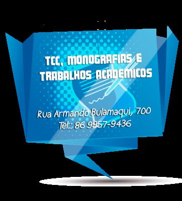 DIGITAÇÃO DE TRABALHOS ACADÊMICOS