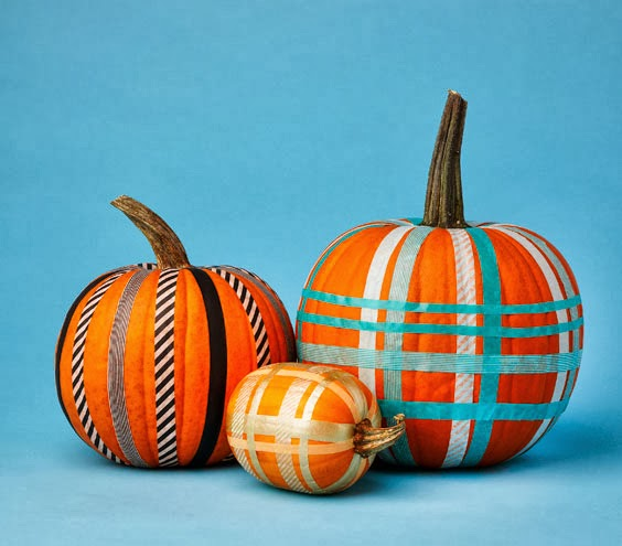 Southern Royalty No Carve Pumpkin Decorating Ideas