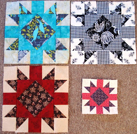 September Alternate Second Saturday Sampler Blocks
