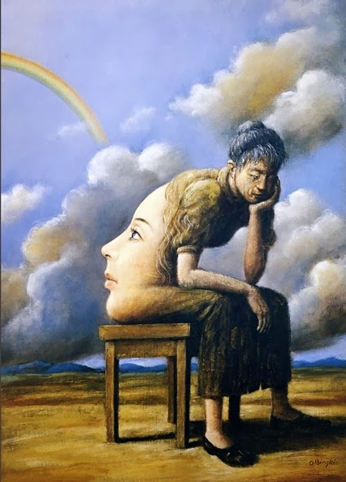 03-Artist-Painter-and-Graphics-Designer-Rafal-Olbinski-Surreal-Paintings-www-designstack-co