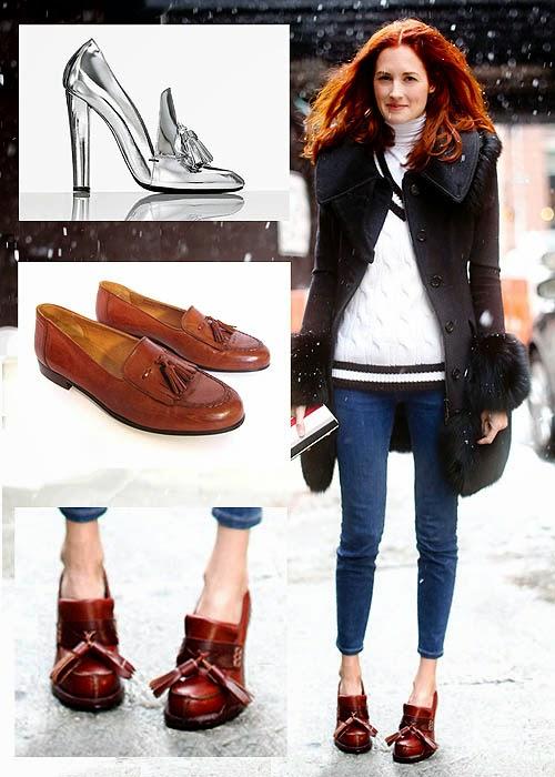 Sepatu Wanita Model Tassel Loafers
