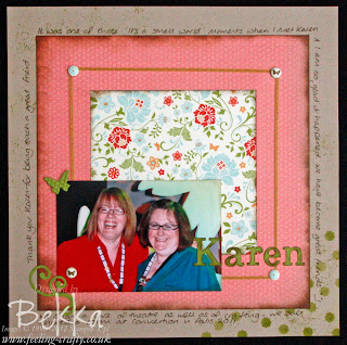 Everyday Enchantment Scrapbook Page by Bekka www.feeling-crafty.co.uk