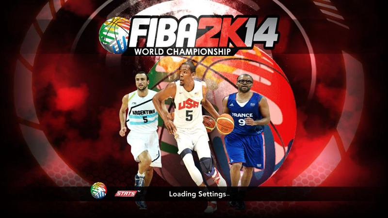 FIBA 2K14 Start-up Screen Cover Patch