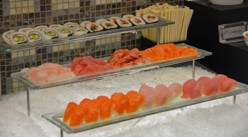 Restaurant Mosaic Kuala Lumpur sushi