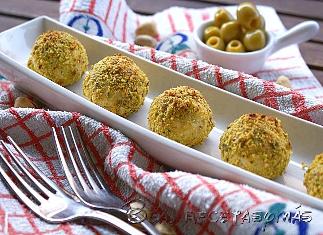Bolitas de queso y aceitunas (TMX)