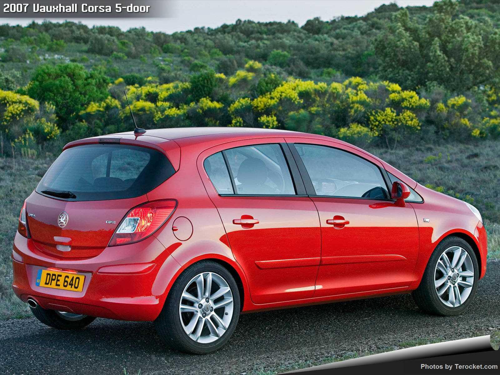 Hình ảnh xe ô tô Vauxhall Corsa 5-door 2007 & nội ngoại thất