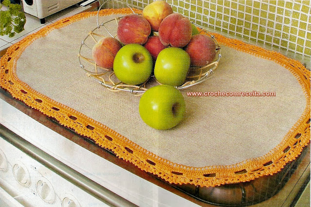 cozinha em croche
