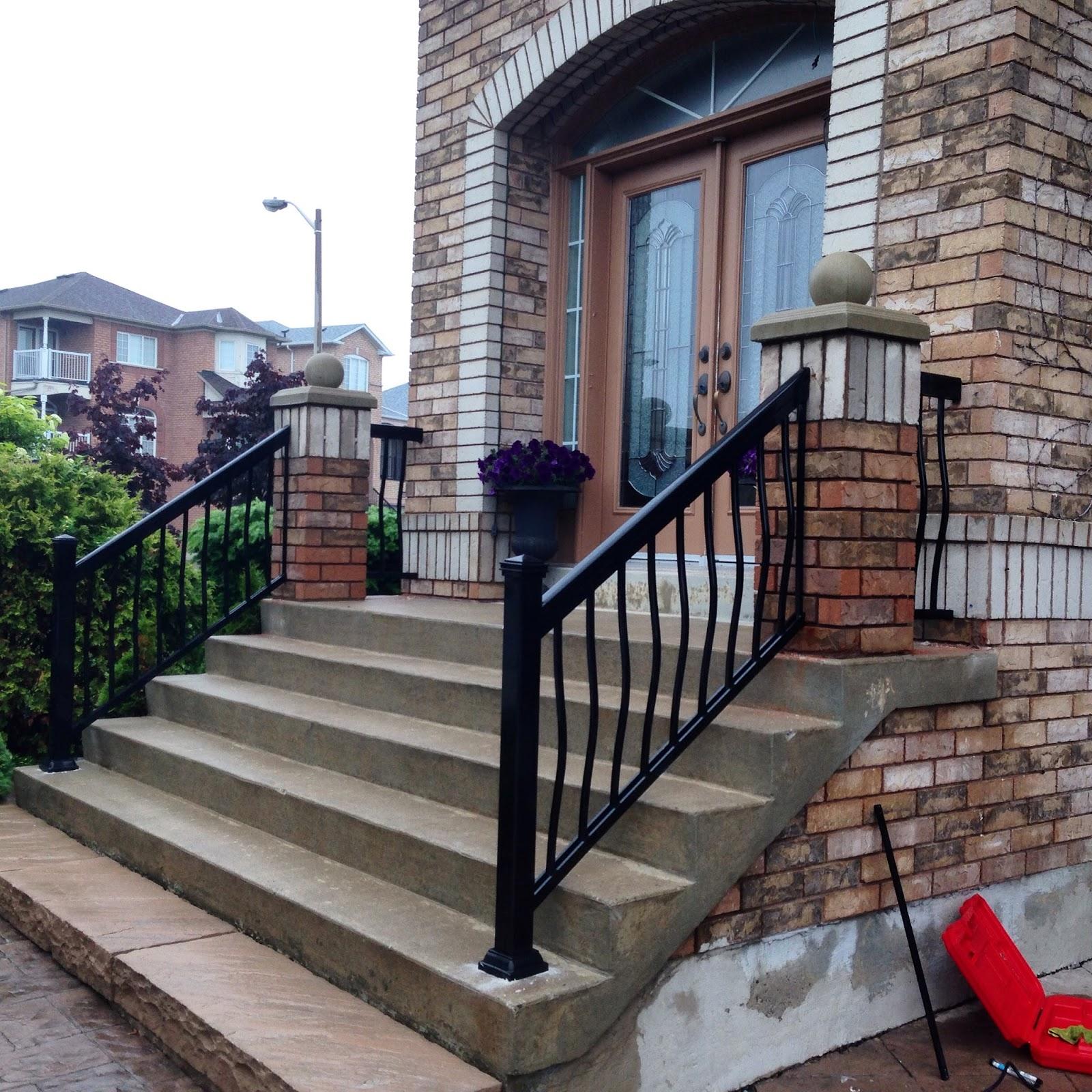 Vaughan Porch Railing Styles Toronto Woodbridge