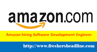 "Amazon hiring Freshers as ""Software Development Engineer"""