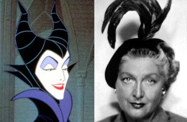 Os personagens da Disney na vida real - Malévola – Eleanor Audley
