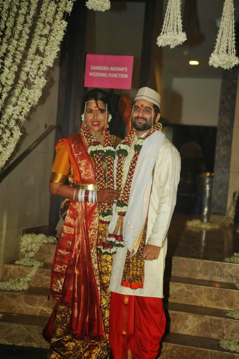 Sameera Reddy Wedding Photos