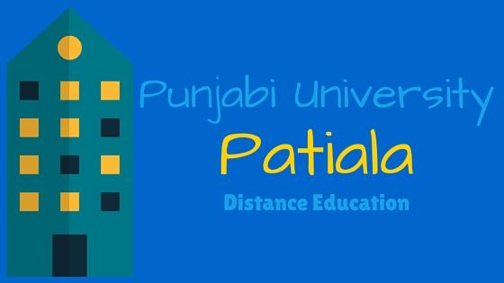 Punjabi University Distance Education