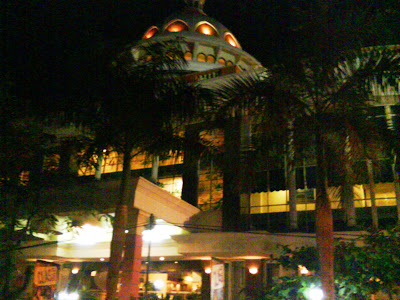 Mega Bintang Hotel at Night