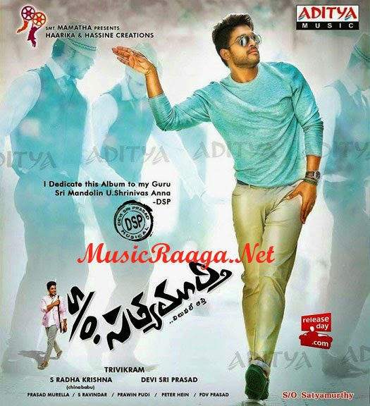 Son of SatyaMurthy Telugu Mp3 Songs Download
