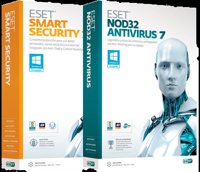 Licencias Eset Smart Security Eset Nod32 Antivirus