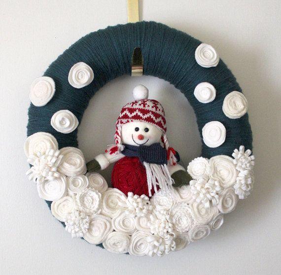 diy coronas navideas - Coronas De Navidad