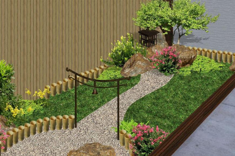 Ideas para decorar un jardin pequeno dise os for Ideas de jardines pequenos