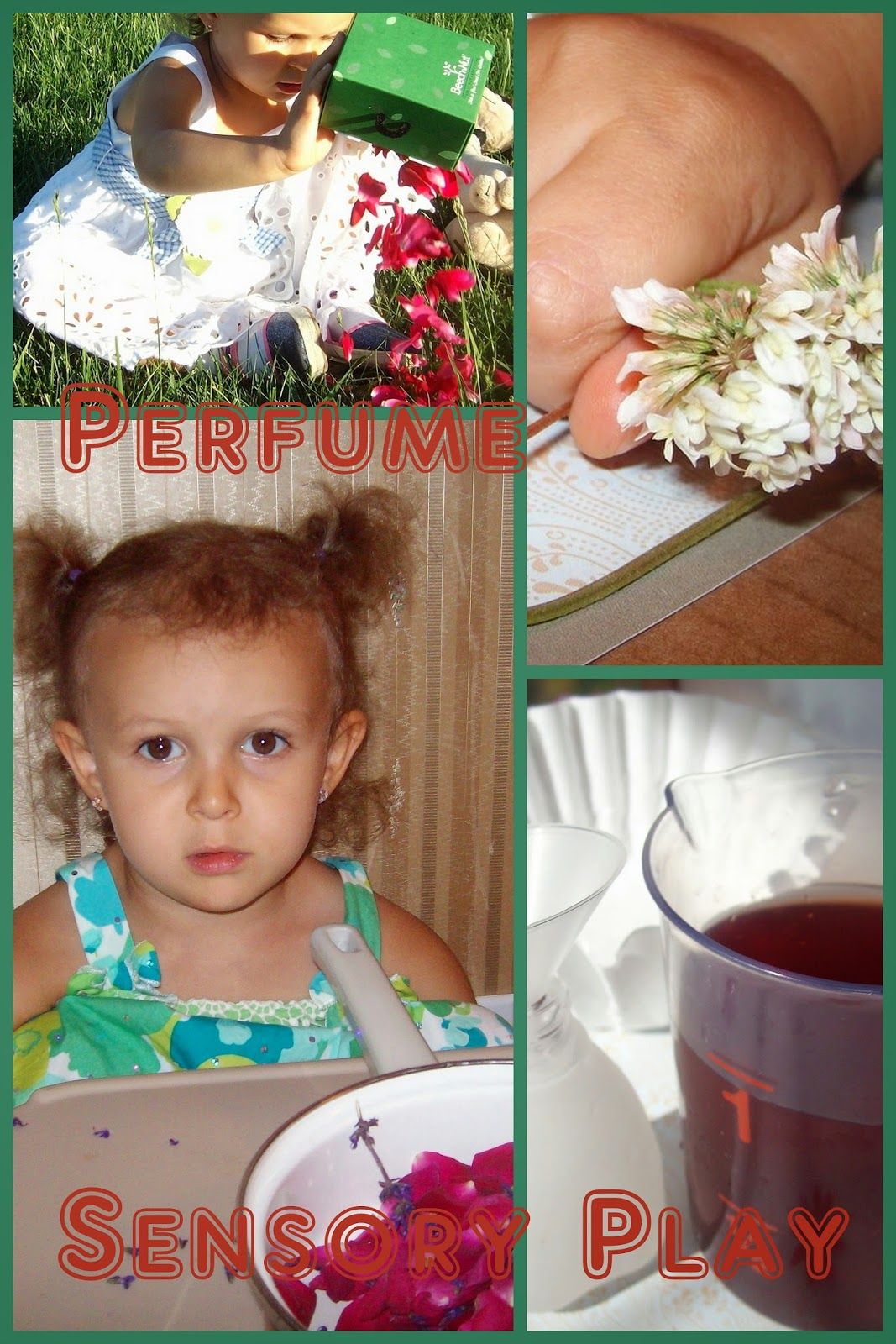Sensory play with flowers and boxes locked with keys, flower sensory bin, making all natural perfume, fine motor and problem solving skills with keys, fun activity for phonemic awareness and listening skills, letter K = summer fun outside.