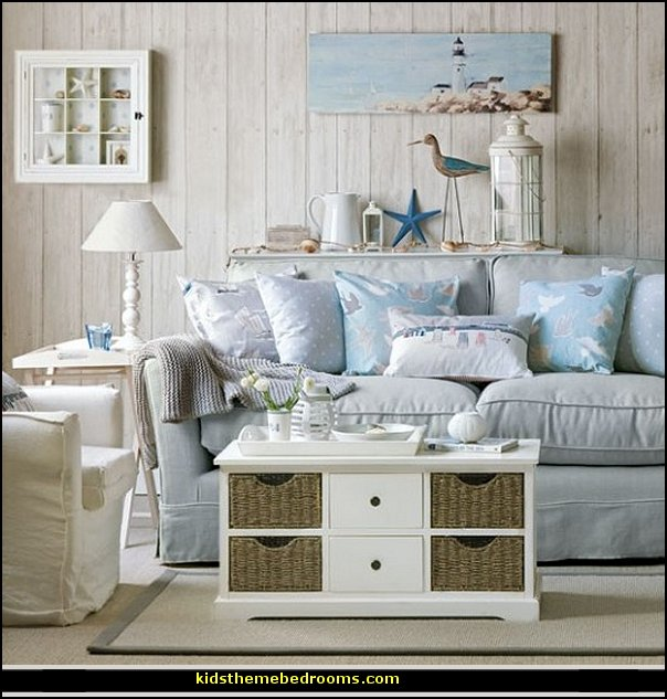 Decorating theme bedrooms maries manor seaside cottage Coastal living rooms ideas