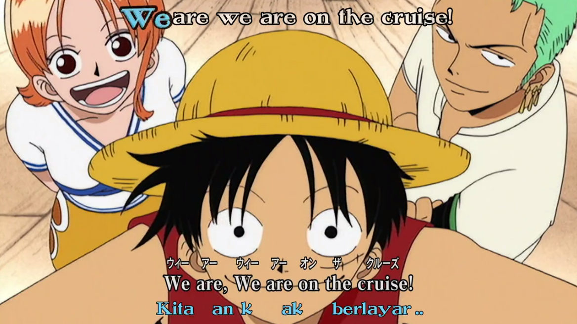 Download Lagu One Piece Opening 1 We Are!