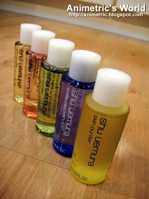 Shu Uemura Skin Purifier Cleansing Oils