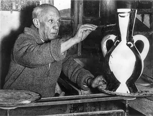 Picasso en acción
