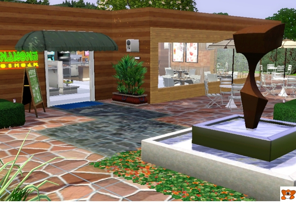sims3housemygallery cafe