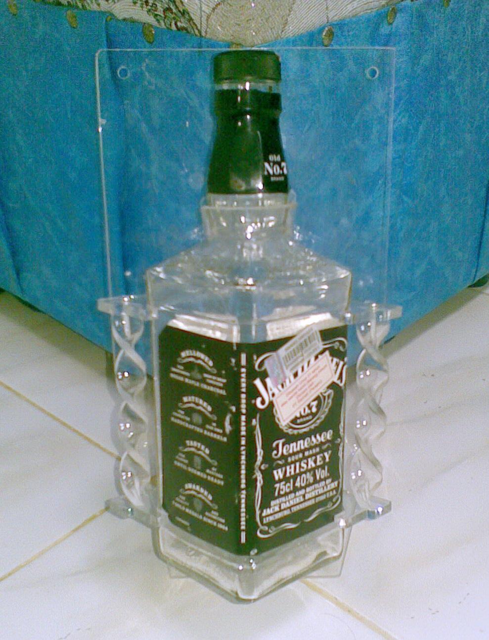 Aksesoris Rx King: Botol Oli Samping Jack Daniel's Tipe 2 Ulir