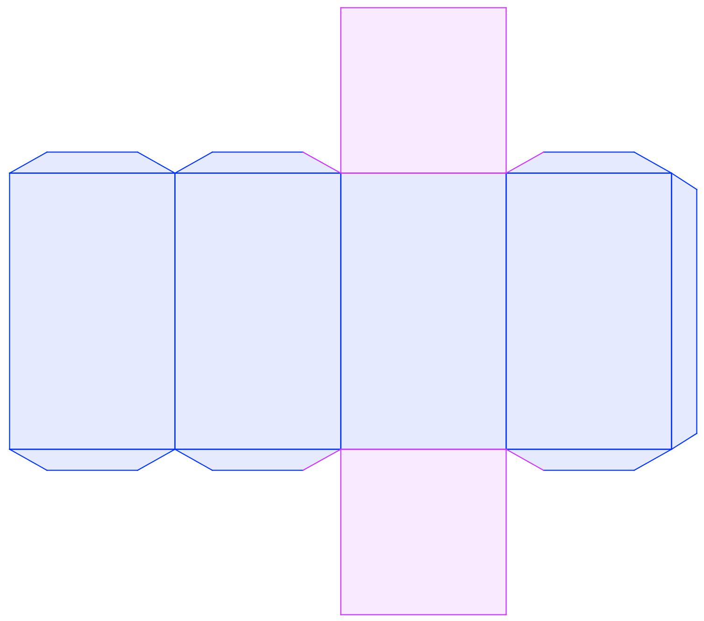 La breda in rete 3a problemi sul parallelepipedo con le for Disegno del piano di costruzione