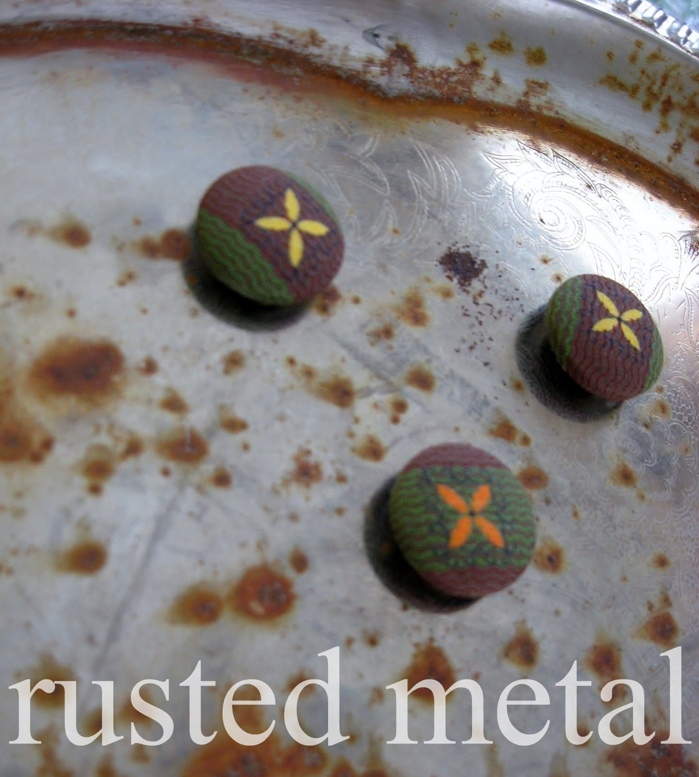 how to make rusted metal look new