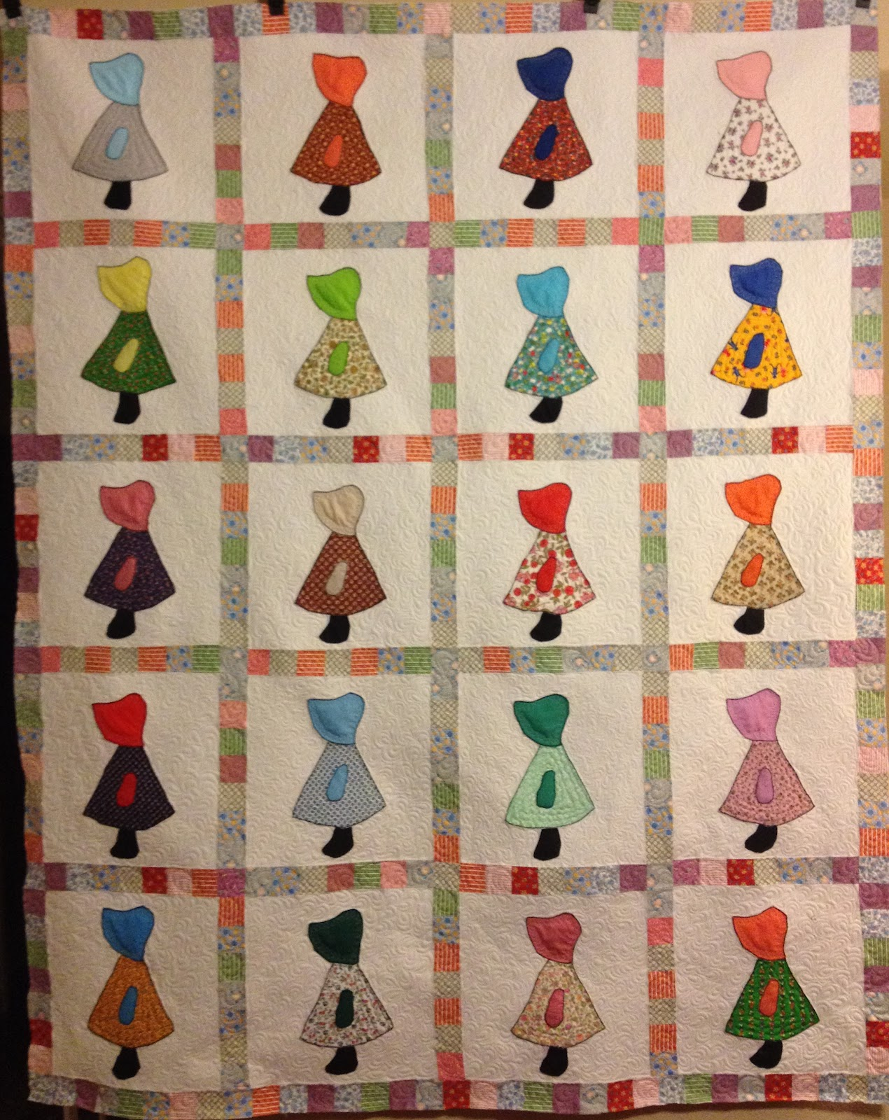 Ros-the-quilter, quilting is my sanity…….: Vintage Sunbonnet Sue : definition for quilt - Adamdwight.com