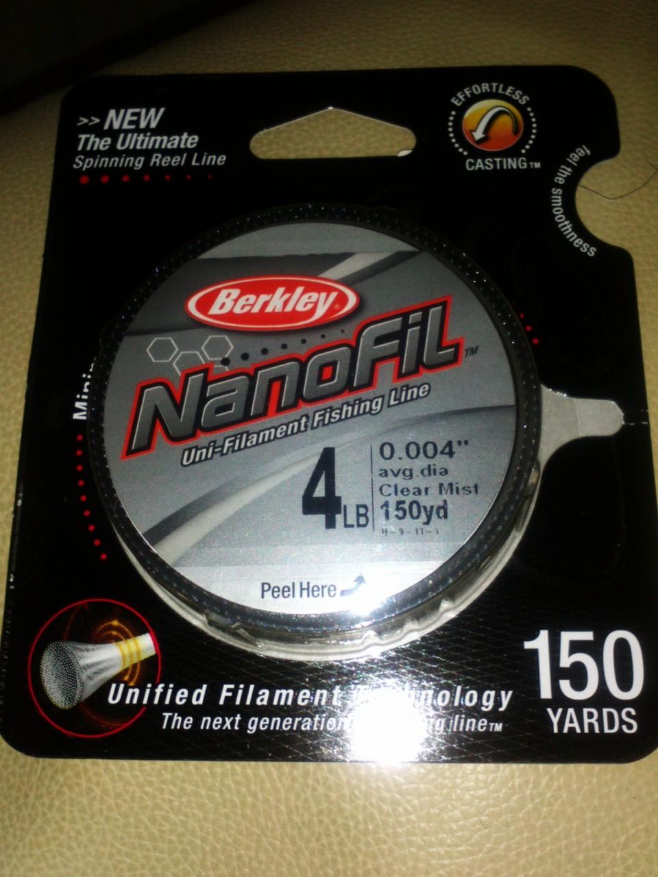 berkley nanofil line