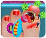Game bác sĩ chữa chân