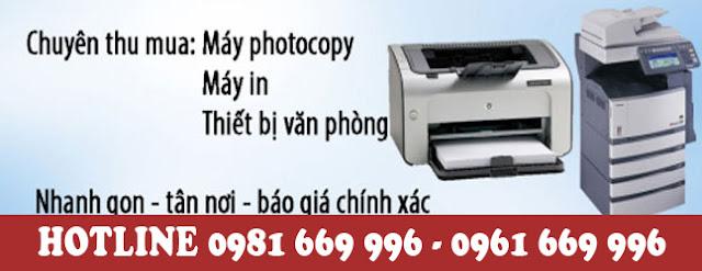 thanh lý máy photocopy tại Hải Phòng